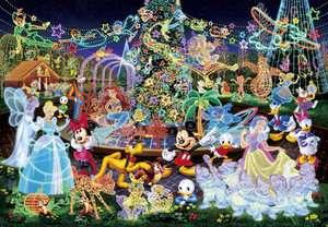 Tenyo Japan Jigsaw Puzzle D 1000 329 Disney All Characters (1000