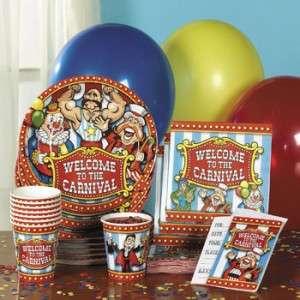 12 BIG TOP CARNIVAL CIRCUS BAGS TENT Party Favor Treat