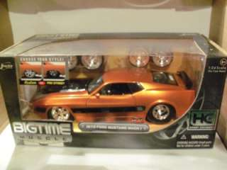 Jada Big Time Muscle 1973 Ford Mustang Mach 1 in Original box
