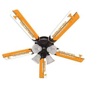 Tennessee UT Vols Volunteers (5) 52in Ceiling Fan Blades