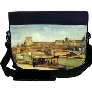 Van Gogh Art Bologne NEOPRENE Laptop Sleeve Bag Messenger Bag   Laptop