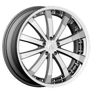 Wheel+Tire Package 22 inch Chrome 5x115 5x114.3 DW19