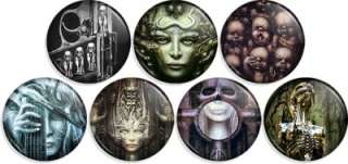 GIGER Pin Button Pinback Badges birth machine