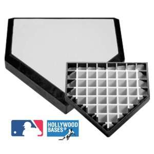 Hollywood Bury All Baseball Home Plate WHITE/BLACK HOLLYWOOD BURY