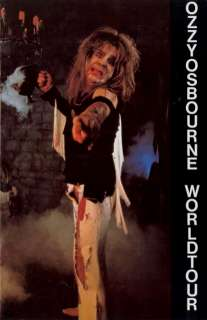 OZZY OSBOURNE / RANDY RHOADS 1982 U.S. TOUR PROGRAM BOOK