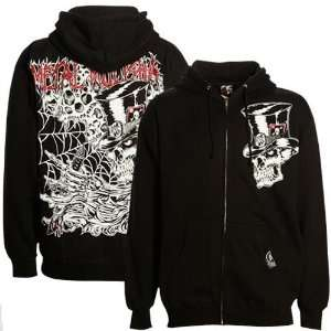 Metal Mulisha Black Lusk Signature Full Zip Hoody