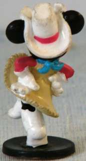 Dancing Cowgirl MINNIE MOUSE Disney PVC Figure