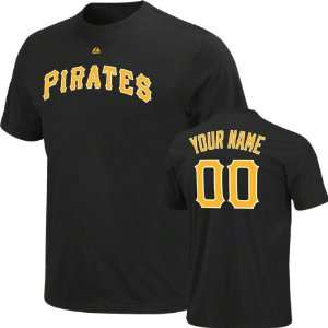 Pirates T Shirt Personalized Name and Number T Shirt Sports