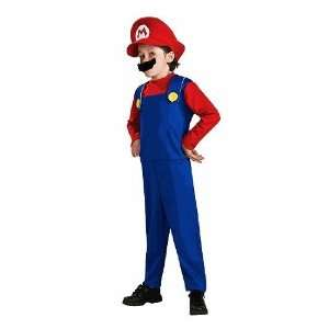 Super Mario Bros   Child Costume   Boy Medium 7 8 Toys