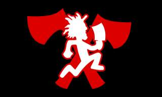 ICP INSANE CLOWN POSSE JUGGALO 3X5 HATCHET MAN FLAG