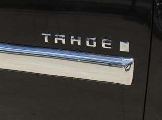 Chevy Tahoe Chrome Door Guard Trim Covers 2007   2009