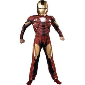 Iron Man Costume Child Large 10 12 Toys & Games