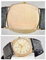 Rare Mens 1940/50s Pink Gold Rolex Tudor W/Watch