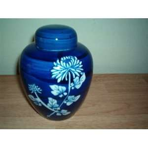 Oriental Style Floral Vase By Takahashi San Francisco: Everything Else