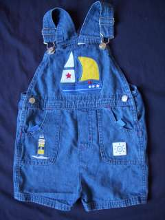 Toddlers Boys/Girls Cotton Jean Denim/Corduroy Overalls Size 3T 4T 5T