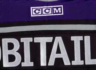 MEDIUM Los Angeles Kings CCM 550 Hockey Jersey   Black bnwt