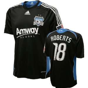 Jamil Roberts Game Used Jersey: San Jose Earthquakes #18
