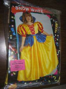 Girls Rubies Super Deluxe Snow White Costume 12 14 NEW