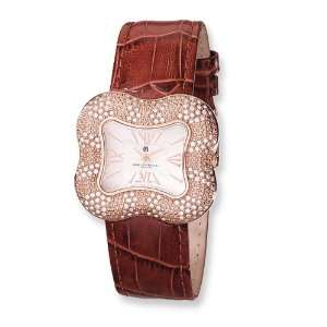Ladies Charles Hubert Rose Gold plated Swarovski Crystal