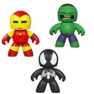 Man Hulk Black Suited Spider Man Marvel Mighty Muggs Set Toys & Games