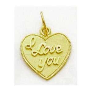 Love Heart Charm   C60 Jewelry