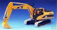 Bruder Toys Caterpillar Excavator CAT cab swivel NEW