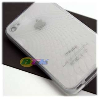 Clear Soft TPU Silicone Gel Skin Case iPhone 4 4G Gen