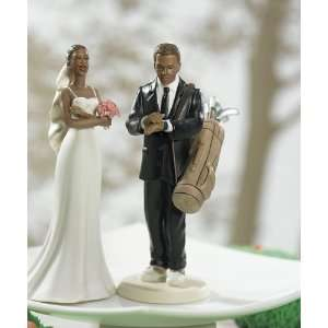 Groom Mix and Match Cake Topper   Non Caucasian Bride