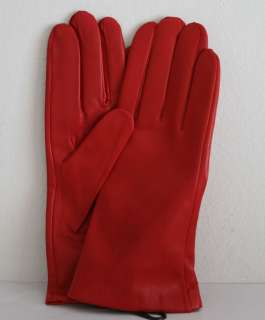 LEATHER LADIES GLOVES with CASHMERE lining XLarge   Gorgeous