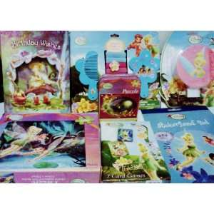 Tinkerbell Girls Birthday Gift Set with Birthday Card