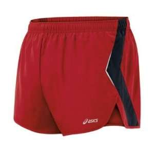 Asics Split Short   Mens   Brick Red/Iron Grey: Sports