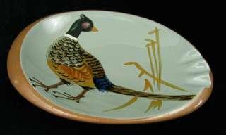 Vintage Stangl Art Pottery Game Bird Pheasant Ashtray