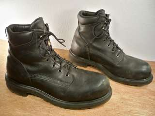 Vintage Red Wing Steel Toe Leather Shell #3507 Mens Work Riding Boots