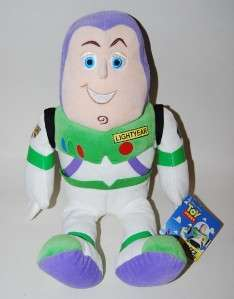 From Kohls Cares for Kids, the is a plush Buzz Lightyear. He measures