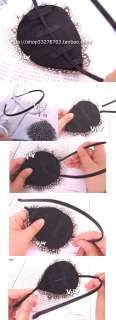 VILY Feather Headband Hair Band Handmad   Peacock Eyes