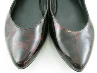 STEVE MADDEN Brown Patent Leather Fashion Flats Sz 7