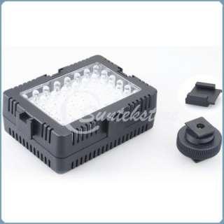 48 LED Light Lamp For DV Camera Canon Sony Pentax Nikon Panasonic DSLR
