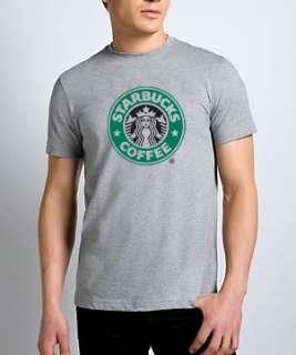 Starbucks Coffee Logo Gray T Shirt *ALL SIZES & NEW*