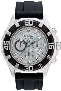 New! Bulova Marine Star Mens Watch 96B152 (Chronograph)