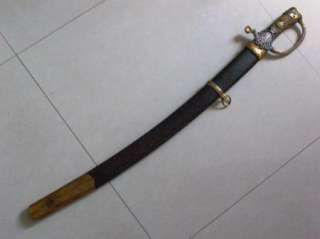 Imperial Russian St.Anna award officers sabre Shashka sword c1864 by