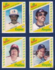 1982 Topps Squirt Complete 22 Card Set