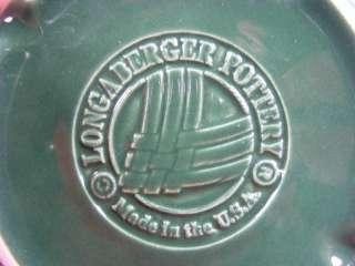 Longaberger Woven Traditions Ivy Green 1 Pint Crock Pt