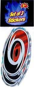 Large Carolina Hurricanes NHL Sticker Decals
