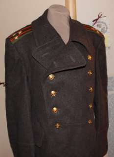 New RUSSIAN Military Uniform USSR Colonel SHINEL 54 4 XXL Greatcoat