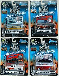MUSCLE MACHINES 164 DIE CAST CARS & TRUCKS FREE SHIP NIB FOR HOLIDAYS