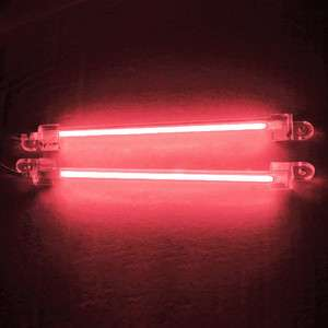 2x RED 6 CCFL Cold Cathode Under Car Led Light Lamp