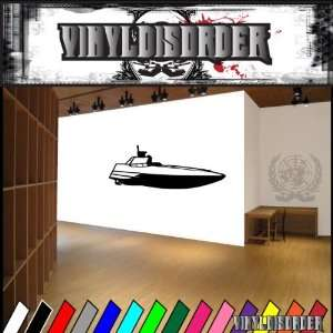 Speed Boat Boats Large Vinyl Decal Stickers 007