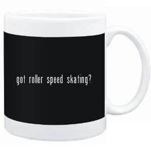 Mug Black  Got Roller Speed Skating?  Sports