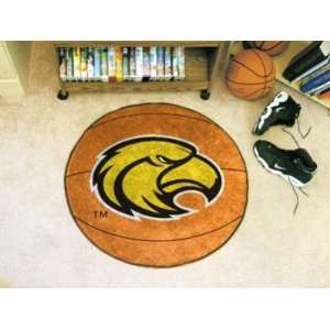 Southern Miss Mississippi Golden Eagles Basketball Shaped Area