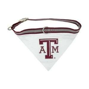 NCAA Texas A&M University Aggies Pet Collar Bandana, Small